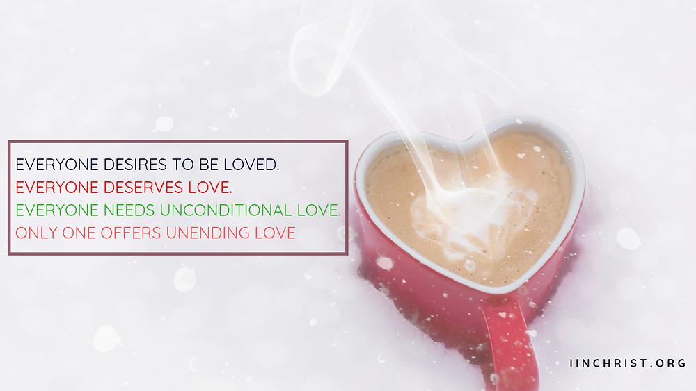 God's love is unending