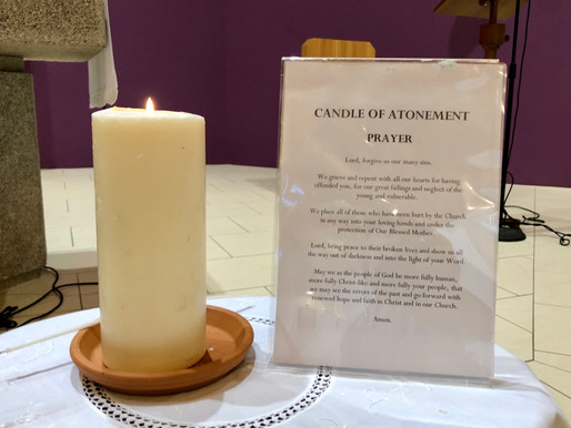 Candle of Atonement and Prayer for Victims and Survivors of Abuse