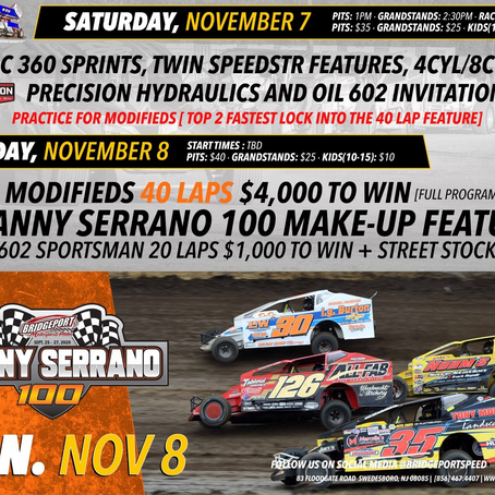 Speedstrs Set to be Part of Monster Bridgeport Weekend Nov 7