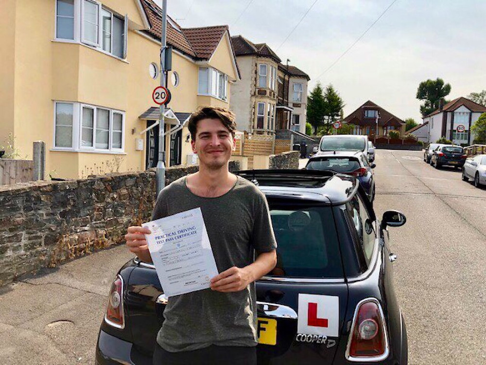 Well done Alex for passing First Time!