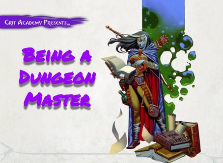 Being a Dungeon Master