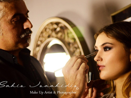 Make Up Artist School Seminars @Sakis Isaakidis Beauty Salon * Member of I.M.A.T.S.