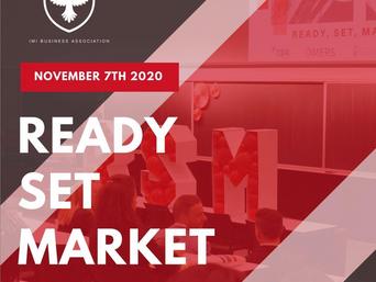 Ready, Set, Market!
