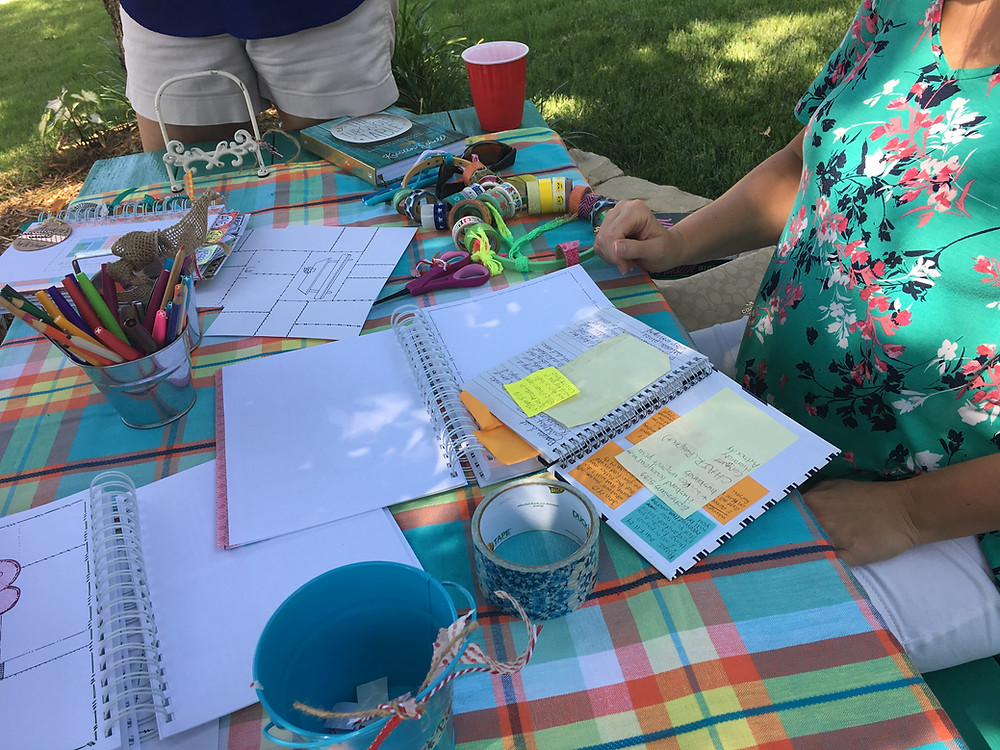 Bible Quilting at the Turquoise Table