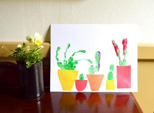 Handprint Succulents