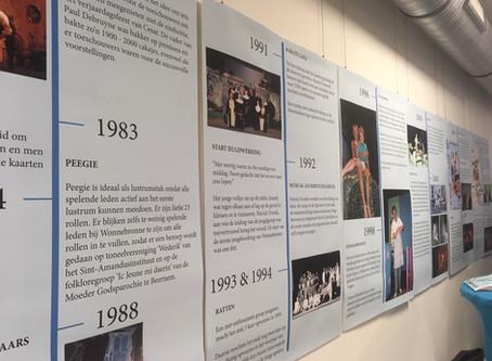 Tentoonstelling 'Wonnebronne: 40 jaar toneelgeschiedenis'