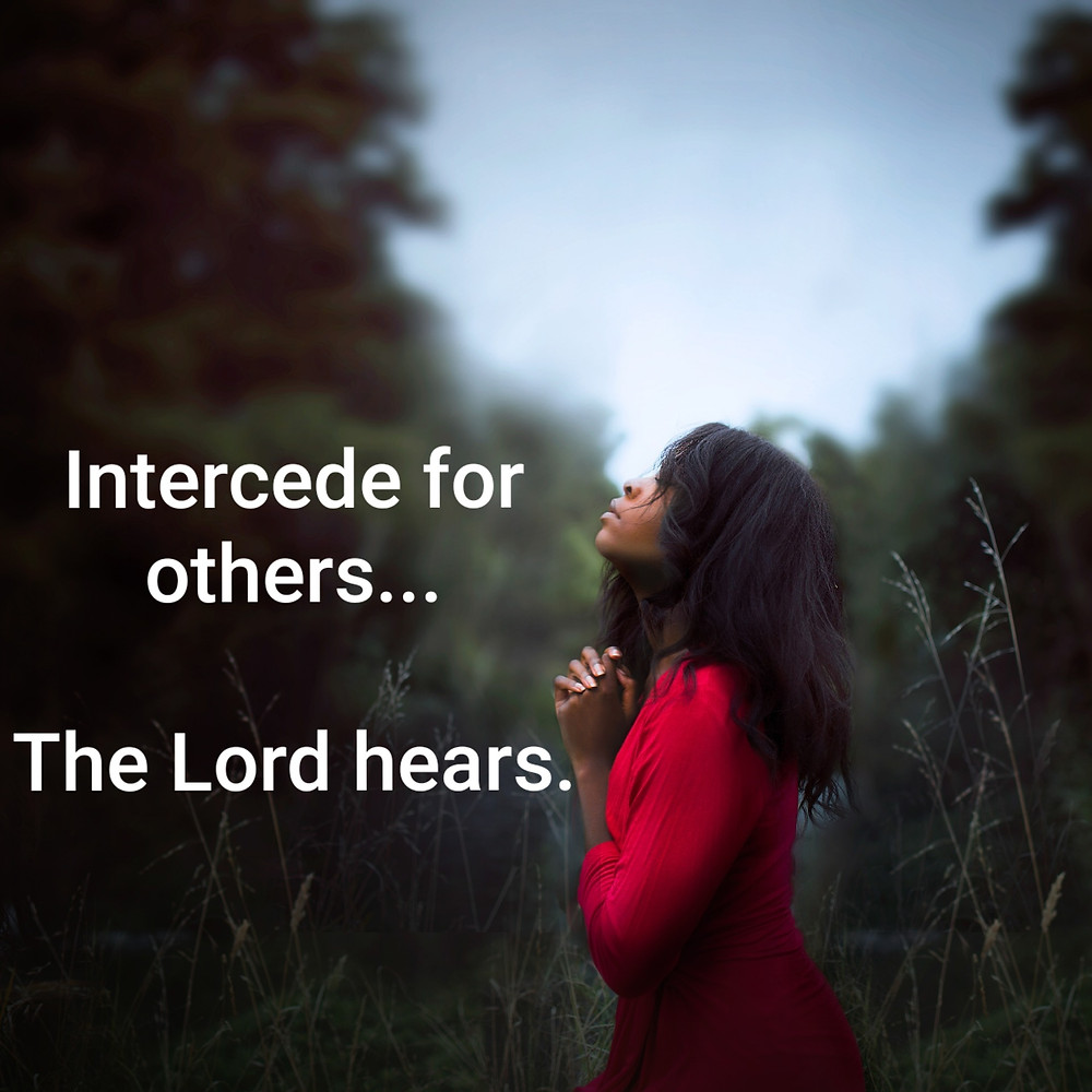 The Lord hears our prayers.