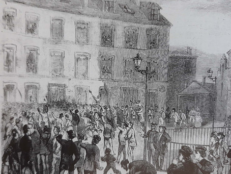 Manifestation anti-Victor Hugo