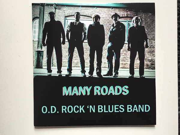 """Many Roads"" nieuw album O.D. Rock 'n Blues Band"
