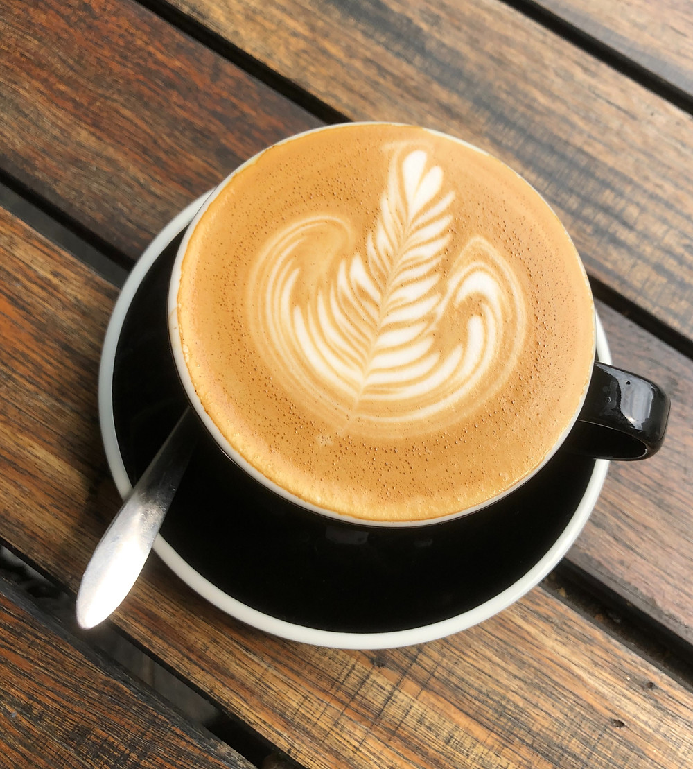 Flat white coffee - Australia