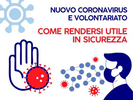 FOCUS Covid-19 / Informazioni utili per il Volontariato