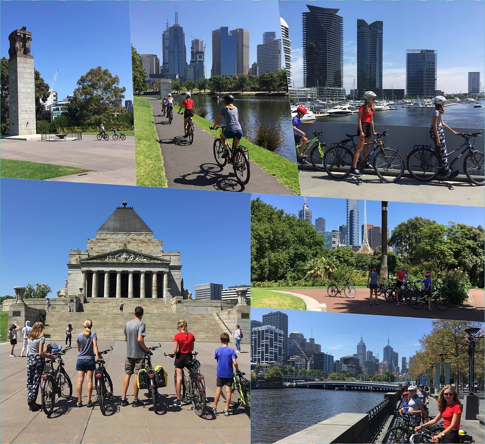 Tour du monde à vélo en famille 2018-2019 : Bangkok Asie, Melbourne Australie