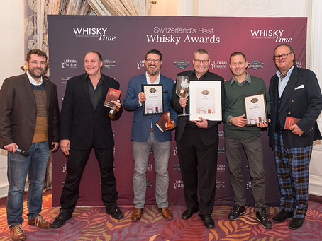 2. Platz bei den Switzerland's Best Whisky Bar Awards!
