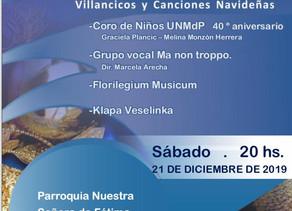 Villancicos y canciones navideñas en Mar del Plata
