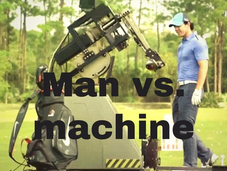 Man vs machine - who would win on the links?