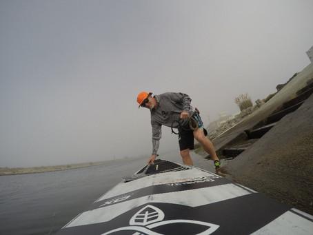 Fog, Dolphins, Photos and SUP