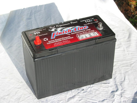 Finish Line Batteries in Stock