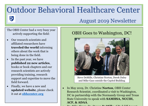 OBH Center, Outdoor Behavioral Healthcare Center,  UNH Adventure Therapy, Adventure Therapy, Wilderness therapy