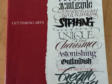 "Book Review: ""Lettering Arts"""