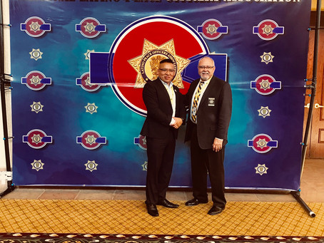 45th Annual National Conference 2018 NLPOA National Officer of the Year.  Steve J Fajardo