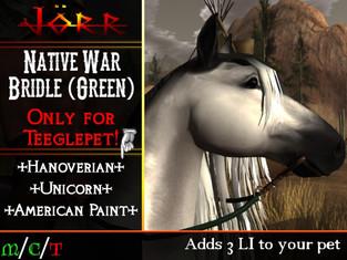 [Jörr] Native War Bridle