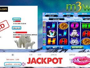 Iceland slot game tips to win RM2300 in 918kiss