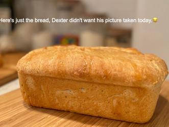 Baking Bread with Dexter