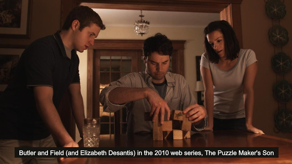 Michael Butler and Michael Field - 2010 web series, The Puzzle Maker's Son