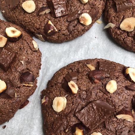 Cookies double chocolat & fleur de sel                 - vegan & gluten-free