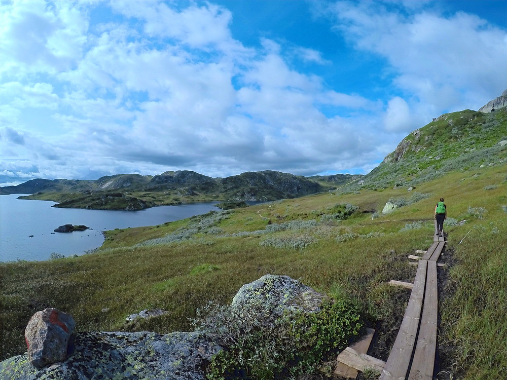 Hiking in Western Norway