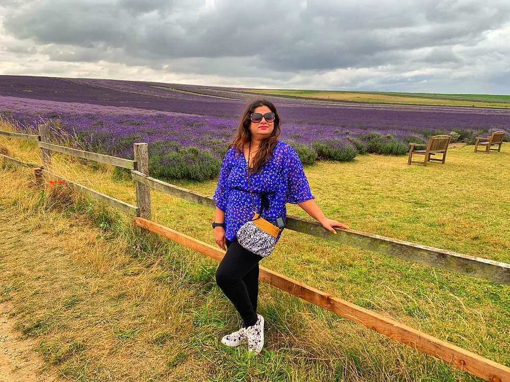 Trip to Hitchin Lavender Field