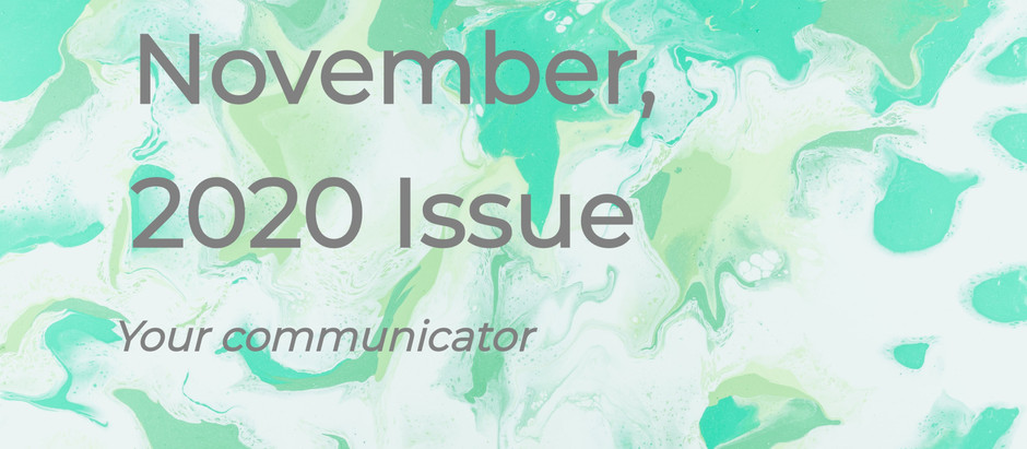 'Your Communicator' - November Issue