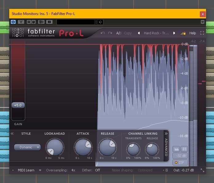 fab filter pro-l limiter plugin