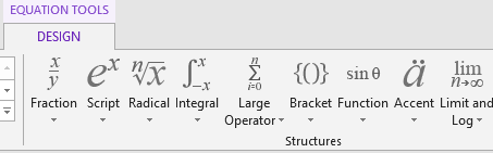Quick tip on how to insert equations in Word