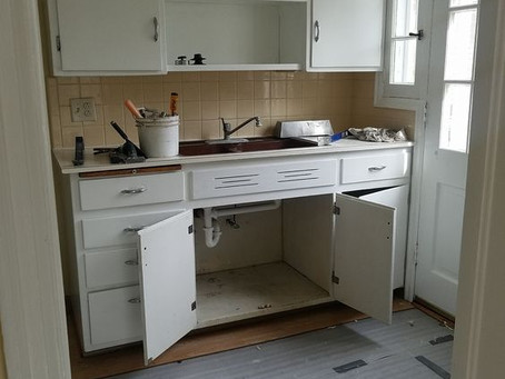 New Kitchen for 320 S 47th St!
