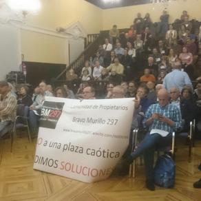 JMD de Tetuán acuerda buscar soluciones a la plaza