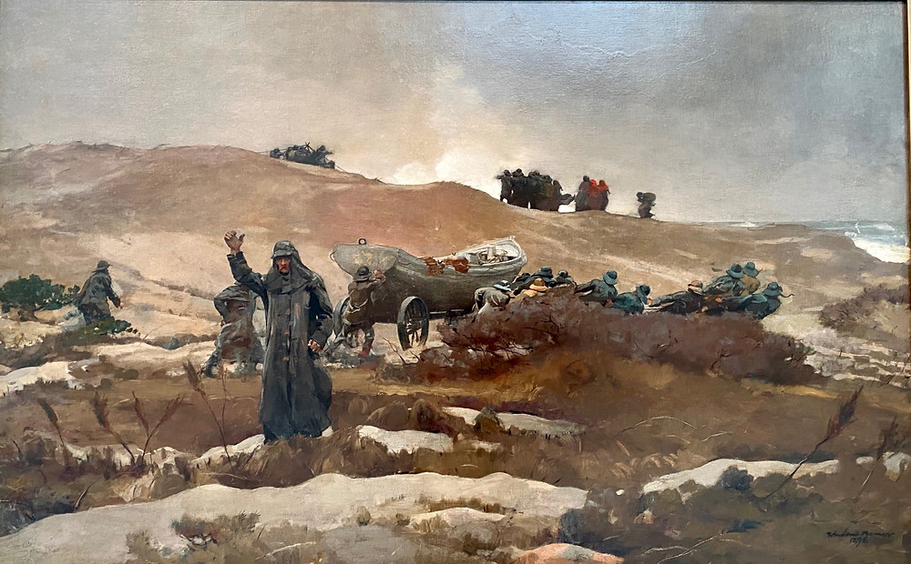 Winslow Homer, The Wreck, 1896