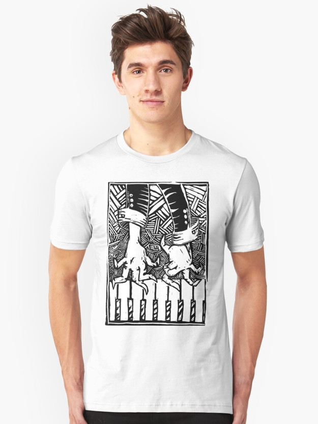 Ne rien savoir faire de ses dix doigts Slim Fit T-Shirt