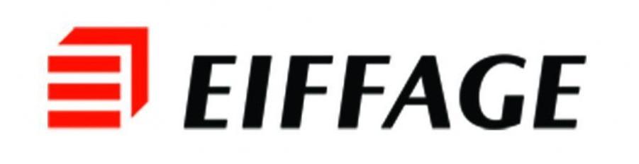 Logo de l'entreprise Eiffage, géant du BTP