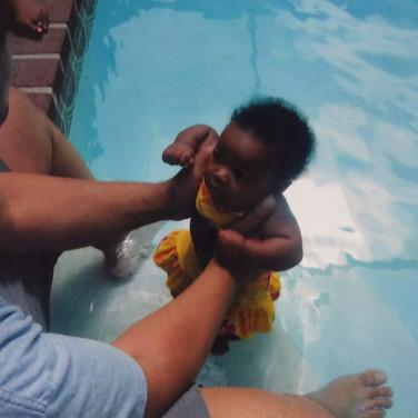 TJ Edgar, summer swemming