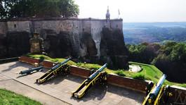 Górska twierdza Königstein