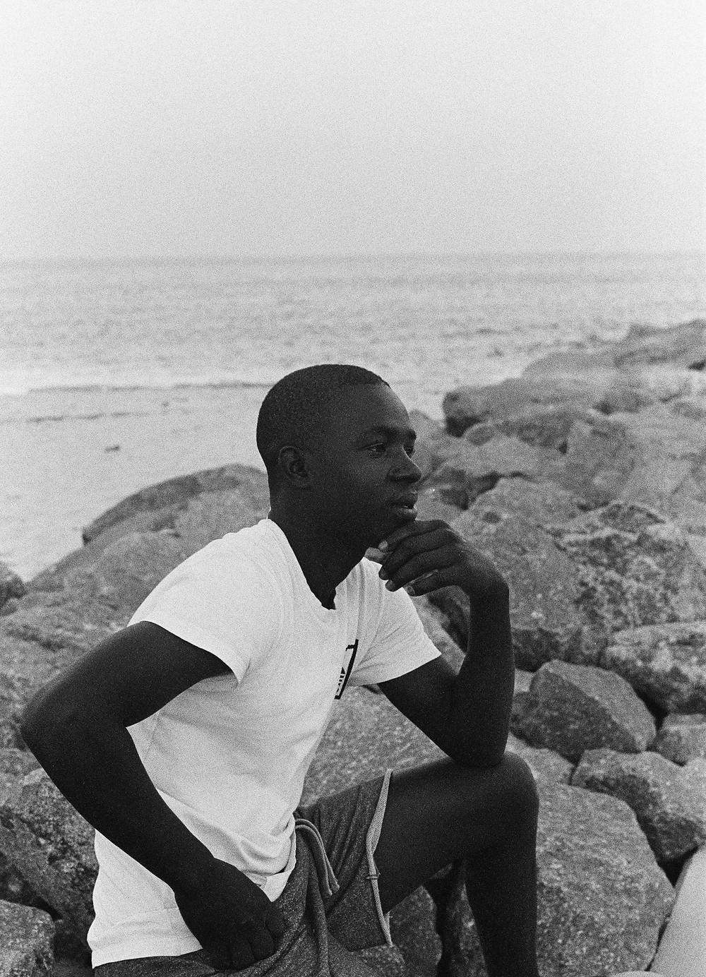 Jovem de Maputo Moçambique