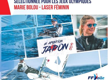 Marie Bolou, sélectionnée aux JO 2020