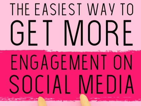 The Easiest Way to Get More Engagement on Social Media 😎
