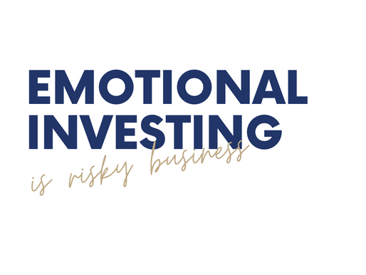 Emotional investing is risky business