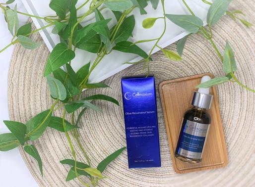 急救乾燥敏感肌 ღ Cellmaxium 急救橄欖白藜蘆醇精華