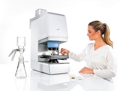 análisis de microplasticos por Micro FT Lumos II