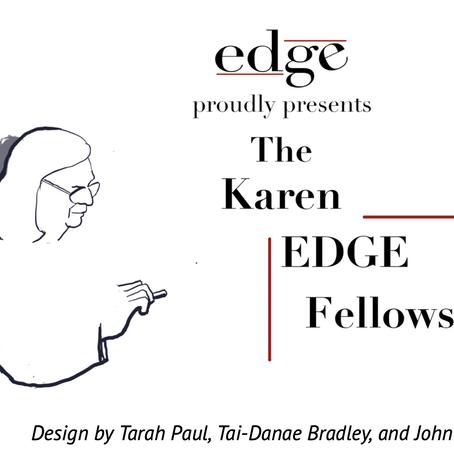 Dr. Harris named a 2020 Inaugural Class of Karen EDGE Fellow