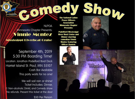 Mississippi Riverboat Cruise and Dinner Starring Comedian Vinnie Montez