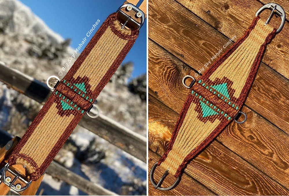 roper cinch, custom cinch, straight cinch